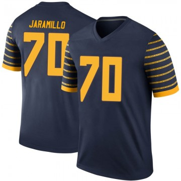 Men's Dawson Jaramillo Oregon Ducks Nike Legend Navy Football College Jersey