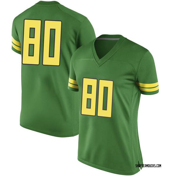 Women's Bryan Addison Oregon Ducks Nike Replica Green Football College Jersey