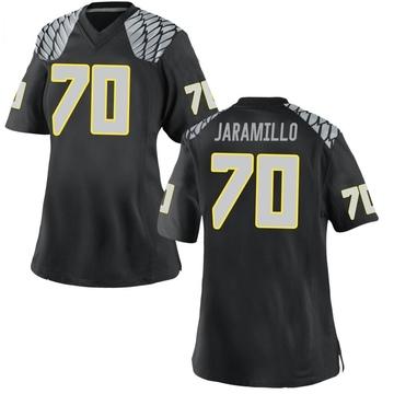 Women's Dawson Jaramillo Oregon Ducks Nike Replica Black Football College Jersey